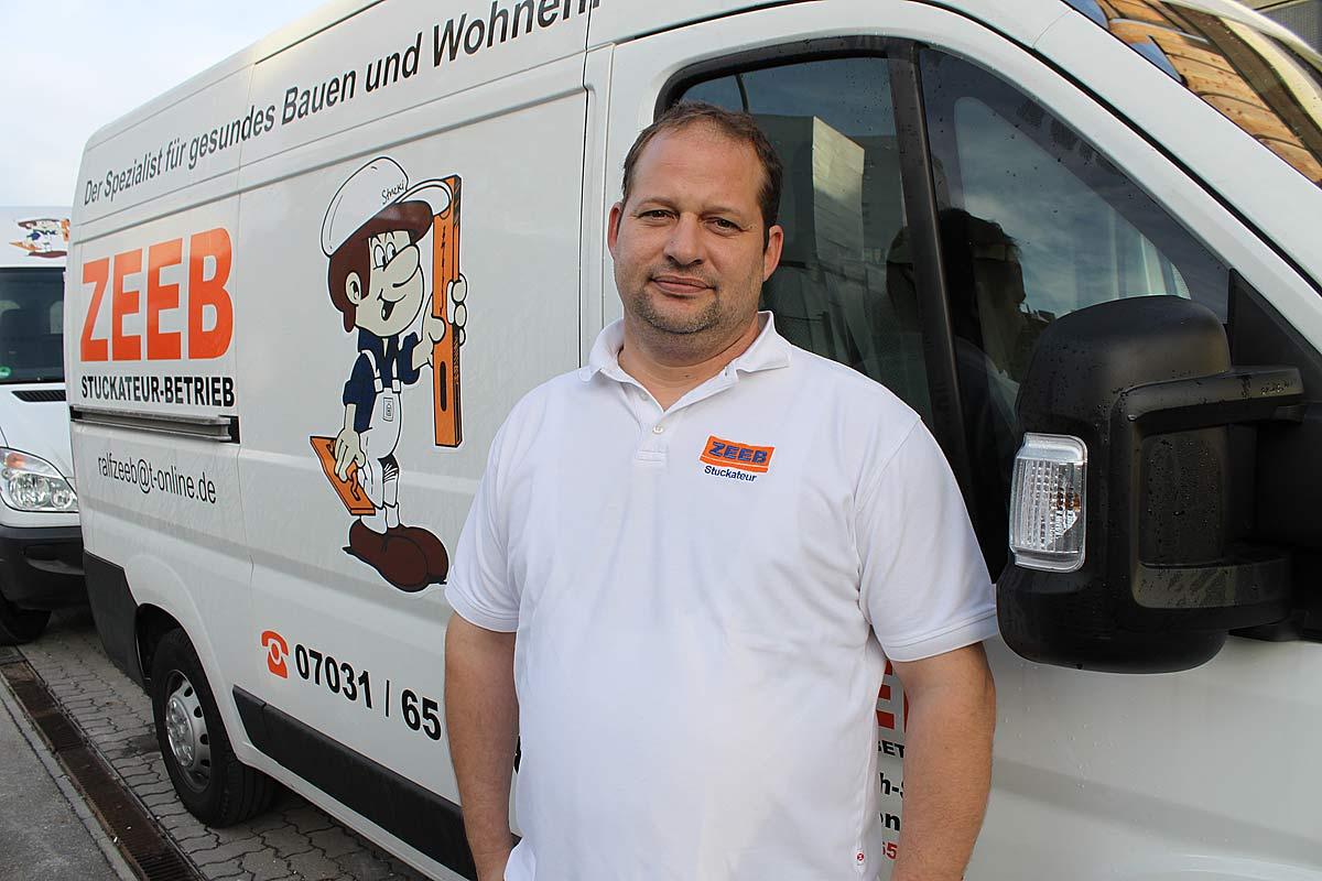 Stuckateurmeister Ralf Zeeb